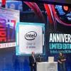 Intel называет Core i7-8086K первым процессором, работающим на частоте 5,0 ГГц