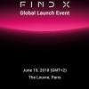 Флагманский смартфон Oppo Find X будет представлен в Лувре 19 июня