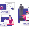 Кто кого учит? Разница между глаголами teach, study и learn