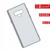 Фото чехла для Samsung Galaxy Note9 подтверждает местоположение камеры и дактилоскопического датчика
