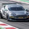 Электромобиль EPCS V2.3 Tesla P100DL готов к гонкам