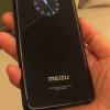 Появились фотографии смартфона Meizu с круглым дополнительным дисплеем