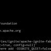 Как не сломать кластер Apache Ignite с самого начала