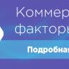 Коммерческие факторы в SEO интернет-магазина и сайта услуг