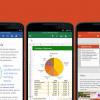 Microsoft Office для Android и iOS получил ряд новых возможностей