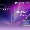 «Пугающие» смартфоны Huawei Nova 3 и Nova 3i представят 26 июля