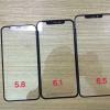 Фото дня: фронтальные панели новых смартфонов Apple iPhone, iPhone X и iPhone X Plus