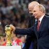 Владимир Путин заявил, что в ходе Чемпионата Мира по футболу было отражено 25 млн кибератак