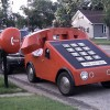 Кто построил «автомобиль-телефон»?