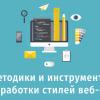 Методики и инструменты для разработки стилей веб-страниц