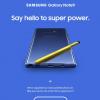 Samsung опубликовала первое официальное изображение смартфона Galaxy Note9