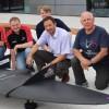 Представлен первый в мире самолет с графеновым покрытием