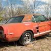 Найден уникальный прототип Mustang 1967 года