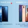 Продано более 10 млн флагманских камерофонов Huawei P20 и P20 Pro