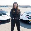 Гонщица разбила Lamborghini в дебютном заезде