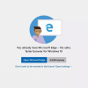 «У вас уже есть Microsoft Edge»: Windows 10 отговаривает пользователей от установки других браузеров