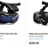 Беспроводной адаптер для гарнитуры Vive VR Pro доступен по цене $360