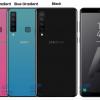 Смартфон Samsung Galaxy A9s с четверной камерой получит корпус в градиентом цвете