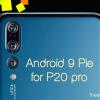 Лучший камерофон Huawei P20 Pro получил прошивку EMUI 9.0 на базе Android 9.0 Pie