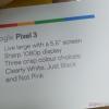 Новый цвет Google Pixel 3 официально называется «не розовый»