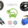 Амортизаторы, ступичные подшипники, тормоза, электродвигатель — будущие источники тепла для электромобиля?