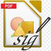 Электронная подпись ГОСТ Р 34.10 документов формата PDF в офисном пакете LibreOffice