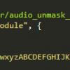 Получение ссылок на аудио без VKApi
