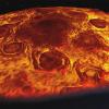 Полет над северным полюсом Юпитера: видео