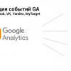 Google Analytics. Синхронизация с пикселями Facebook, VK, Yandex, MyTarget