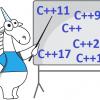 Современный C++ != (Самый)Новый Стандарт