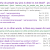 Когда Java наконец помрёт, что с этим делать и что будет с JPoint