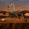Космический аппарат InSight для изучения сейсмической активности Марса успешно приземлился на планету