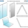 Samsung запатентовала складной смартфон с двумя экранами
