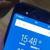 Первое живое видео с участием двухэкранного смартфона Vivo