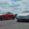 Kia Stinger GT S выставили против самого знаменитого электрокара