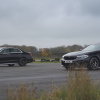 BMW M5 Competition против Mercedes-AMG E 63 S: дрэг-гонка