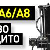 Обзор 3D-принтеров Anet A6 и Anet A8