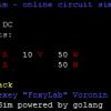 Минималистичный онлайн-симулятор линейных DC и AC цепей