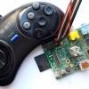 Геймпад от Sega Mega Drive и Raspberry Pi Часть 1 (подготовительная и трёхкнопочная)