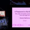 DEFCON 21. Одних паролей недостаточно, или почему «ломается» шифрование диска и как это можно исправить. Часть 1