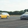 BMW M3 CSL выставили против Audi RS4 B5: видео