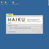 Haiku β1 — сделаем -b- OS великой снова