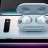 Беспроводные наушники Samsung Galaxy Buds заряжаются без проводов от Galaxy S10+