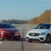 Alfa Romeo Stelvio QV выставили против Mercedes-AMG GLC 63