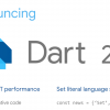 Анонсирован Dart 2.2: более оптимальный машинный код, поддержка Set литералов