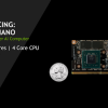 Nvidia представила микрокомпьютер Jetson Nano за $99 с четырехъядерным процессором ARM и GPU Maxwell
