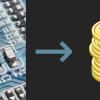Майнинг на микроконтроллере ESP32 оказался не очень выгоден