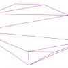 Алгоритм триангуляции Делоне методом заметающей прямой
