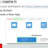 Туториал по Oracle Application Express. Обзор IDE