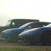 Mercedes-AMG G63 против Porsche Cayman GTS и Audi RS3: дрэг-гонка